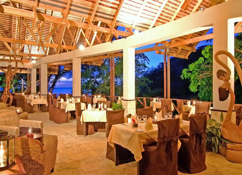 Anse Chastanet Resort Dinning Room