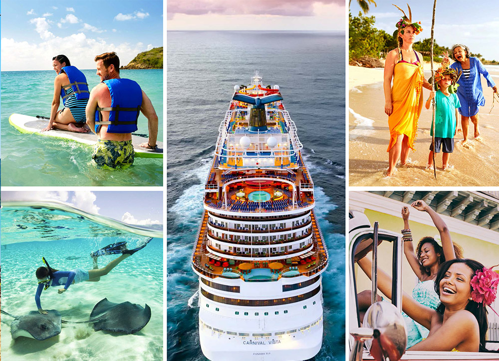 Carnival Cruise Sea Adventures Await
