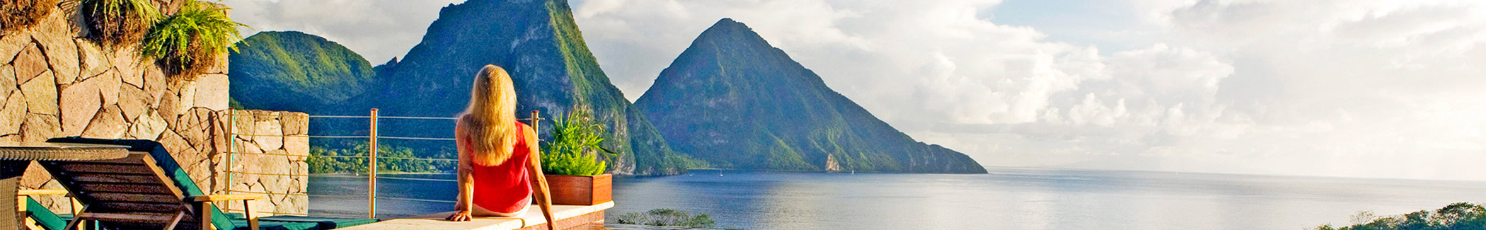 Discover Saint Lucia Banner