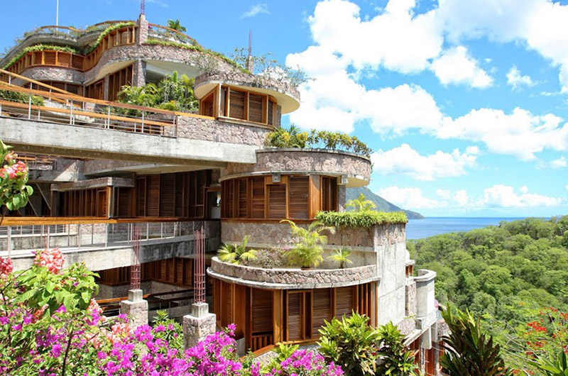 Jade Mountain Saint Lucia Senic View