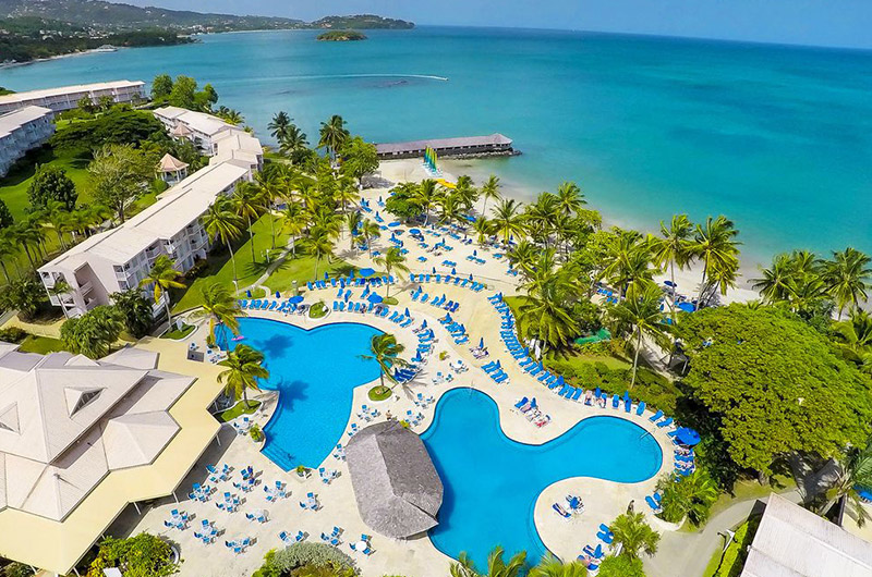 Morgan Bay Resort Saint Lucia Aerial View